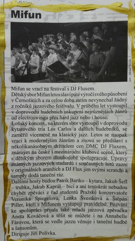 Jazz News 2016