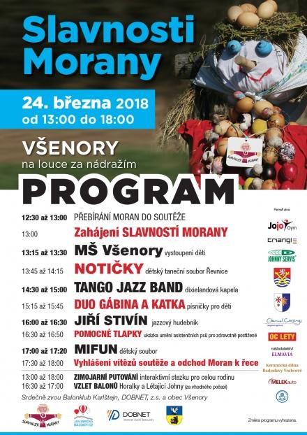 1. jarní workshop a Slavnosti Morany ve Všenorech
